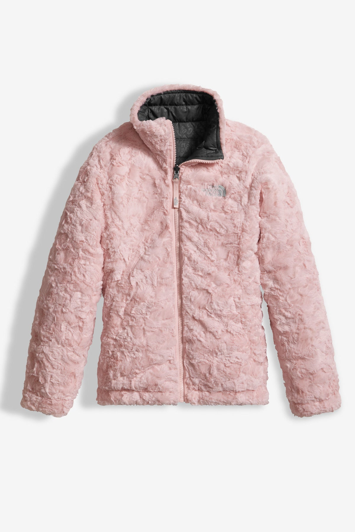 The North Face Girls Reversible Mossbud Swirl Jacket - Mini Ruby 96916b22f
