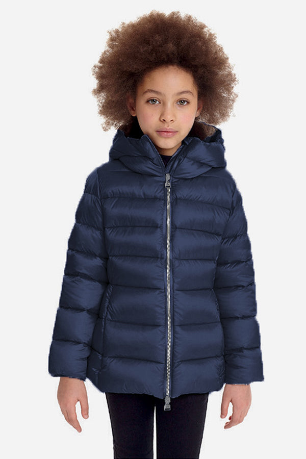 ADD Down Girls Down Jacket - Navy