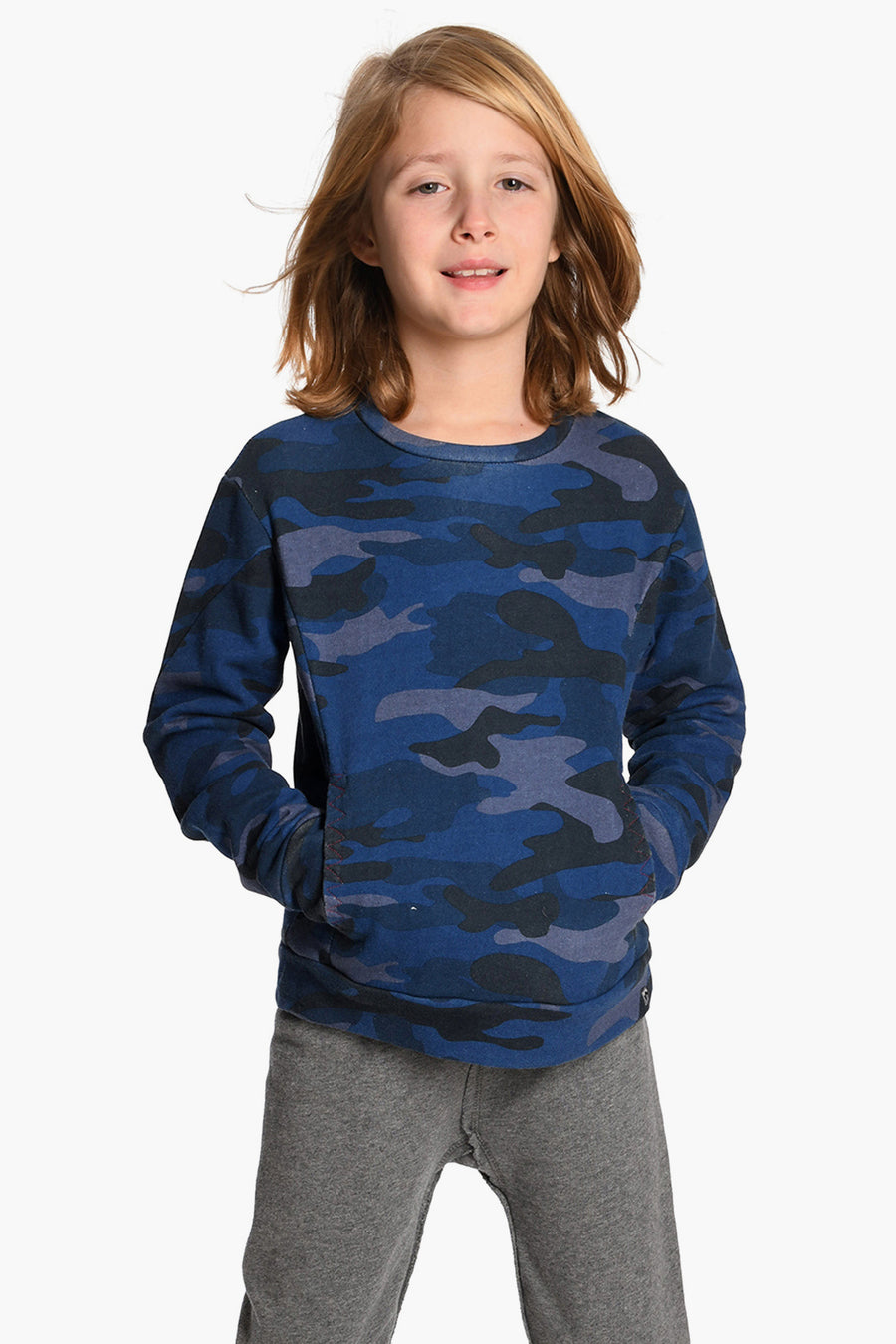 Appaman Navy Camo Boys Shirt