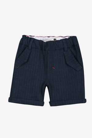 Jean Bourget Navy Baby Shorts