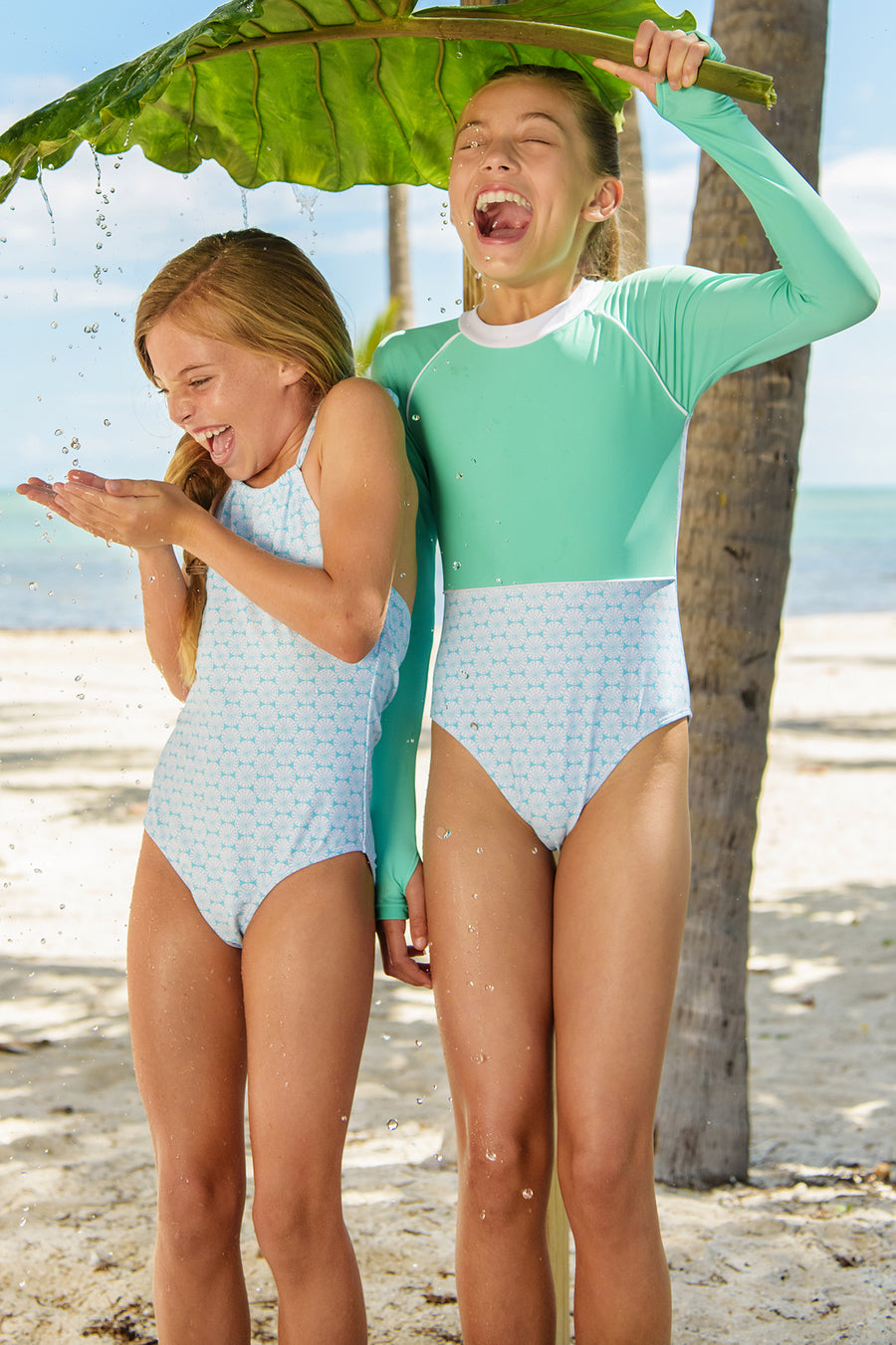 Snapper Rock Oceania Sustainable Girls Surfsuit