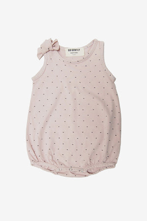 Go Gently Nation Polka Dot Onesie