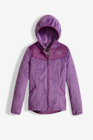 The North Face Girls Oso Hoodie - Bellflower Purple
