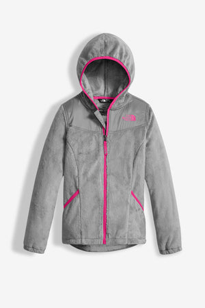 The North Face Girls Oso Hoodie - Silver