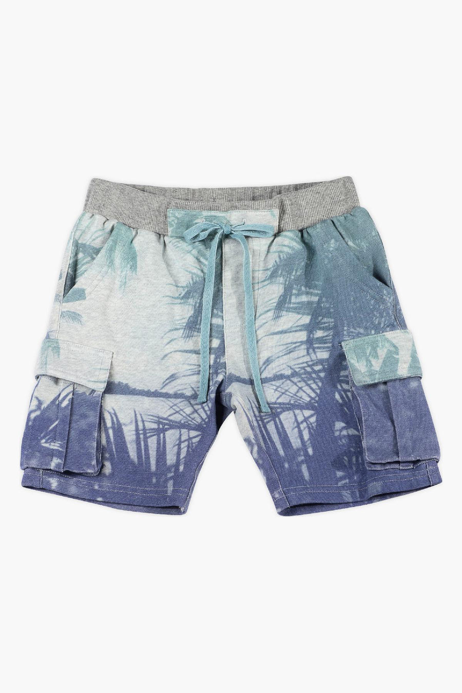 Paper Wings Palms Boys Cargo Shorts
