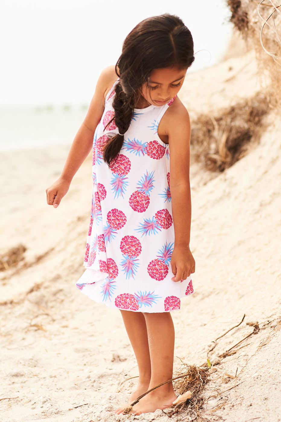 Hatley Party Pineapples Girls Dress