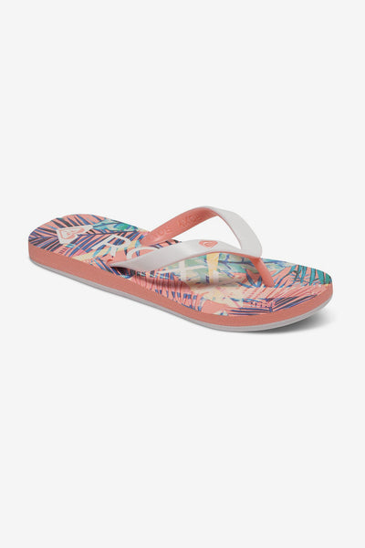 Roxy Tahiti Sea Kids Flip Flops