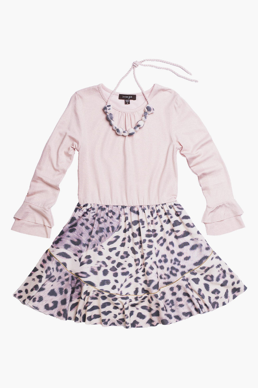 Imoga Peggy Girls Dress- Lynx