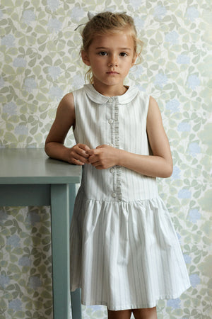 Wheat Penny Girls Dress