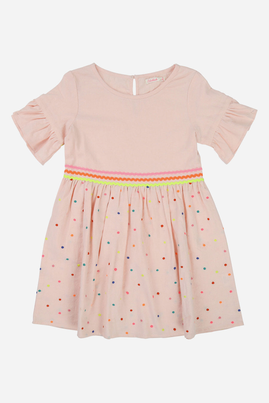 Billieblush Dot Embroidered Dress