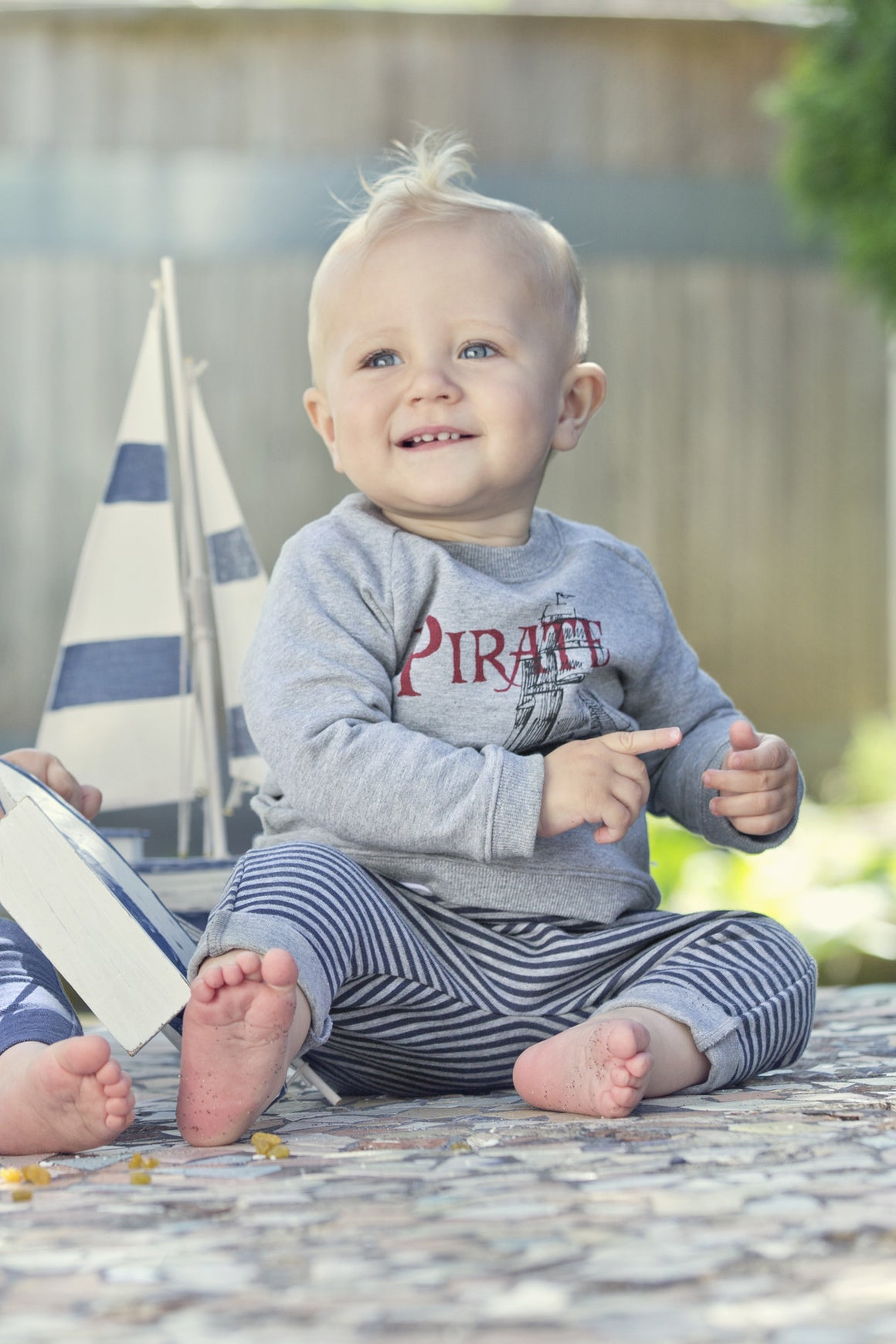Wheat Pirate Sweatshirt - Baby