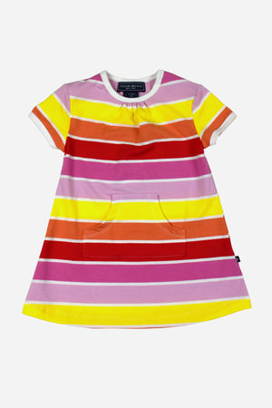 Toobydoo Baby Stripe Play Dress