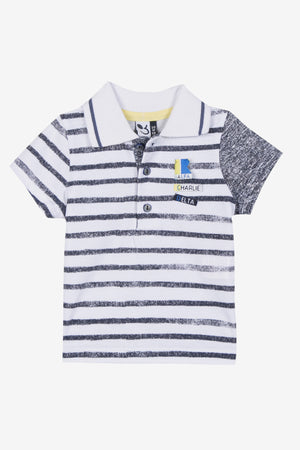 3pommes Baby Boy Polo (Size 6/9M left)