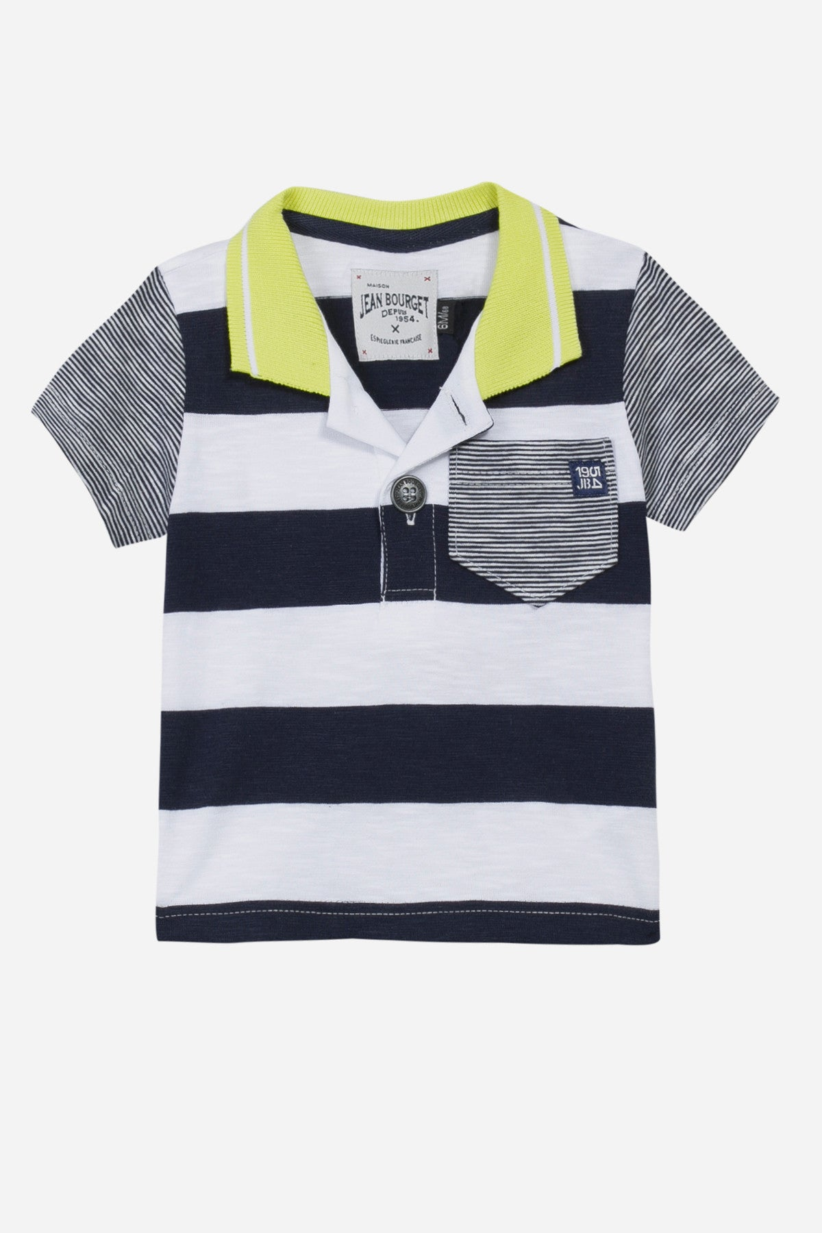 6ab6d3663 Jean Bourget Baby Boys Polo Shirt at Mini Ruby Contemporary ...