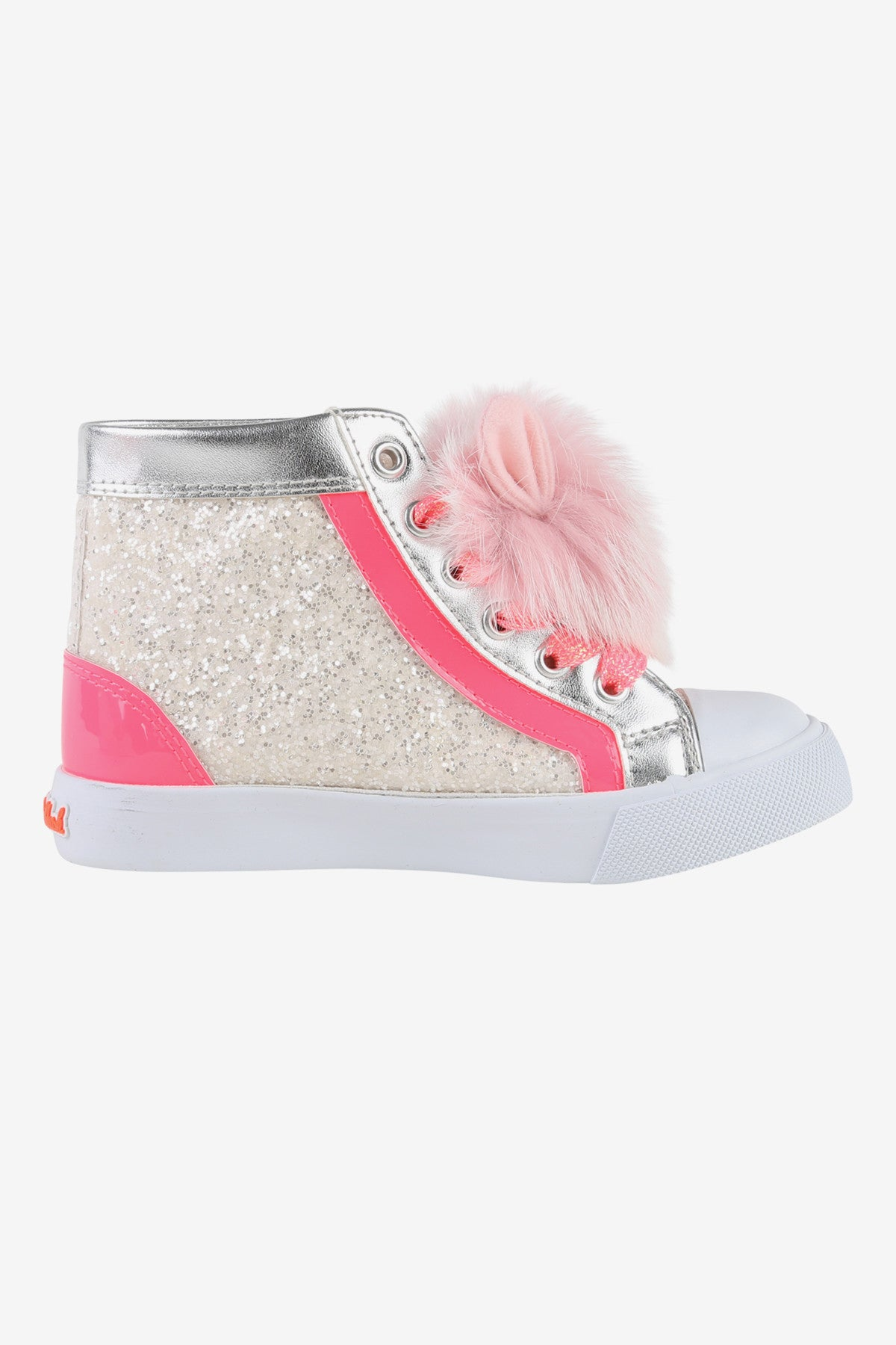 Billieblush Pom Pom High Top Girls Sneaker
