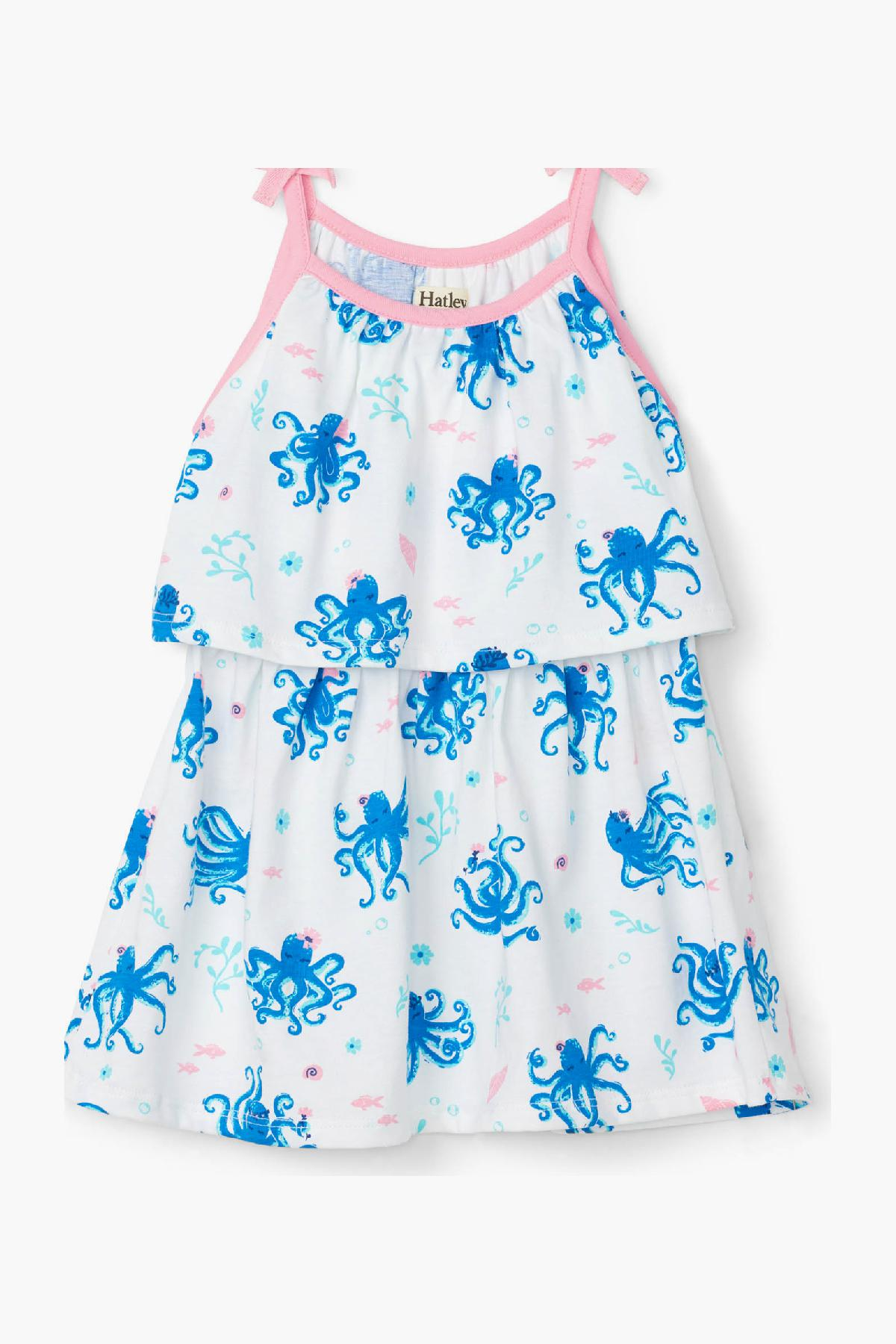 Hatley Pretty Octopuses Baby Girls Dress