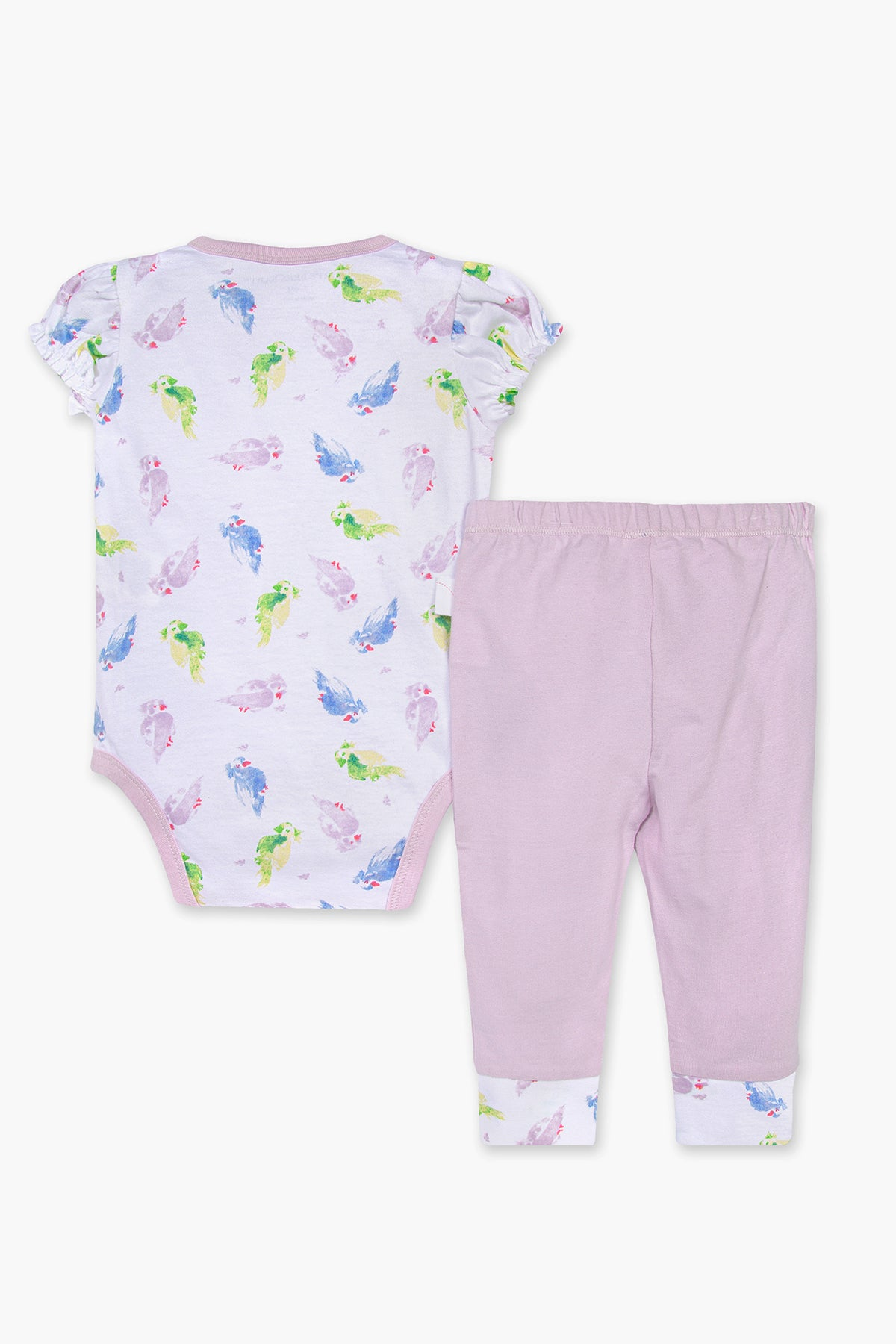 Burt's Bees Pretty Parakeet 2-Piece Baby Girls Set