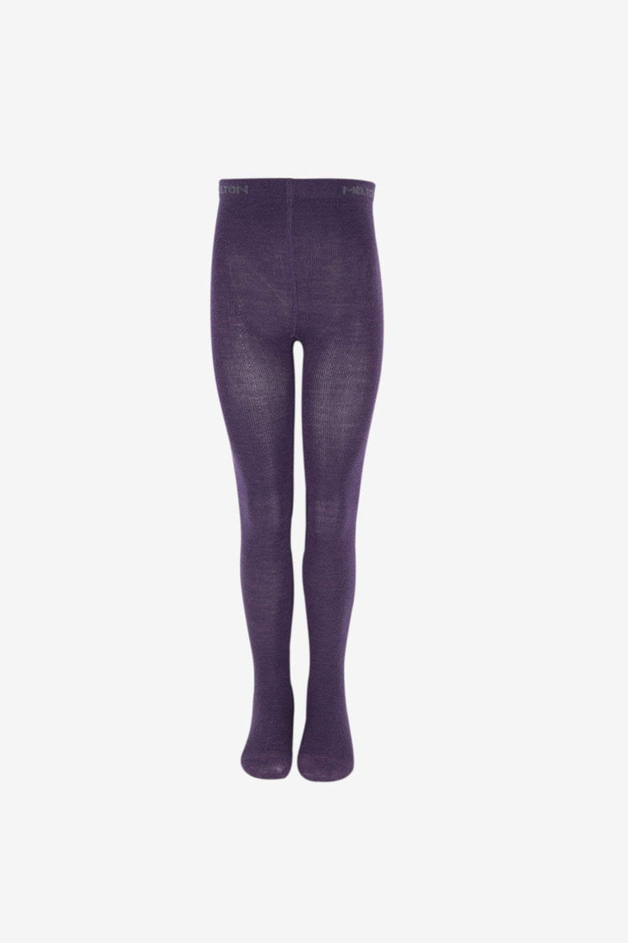 Girls Premium Wool Tights - Deep Purple