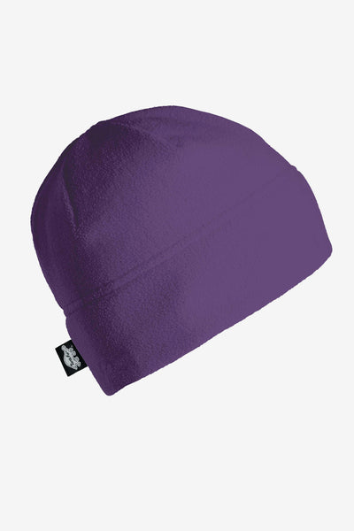 Turtle Fur Fleece Beanie Hat - Purple