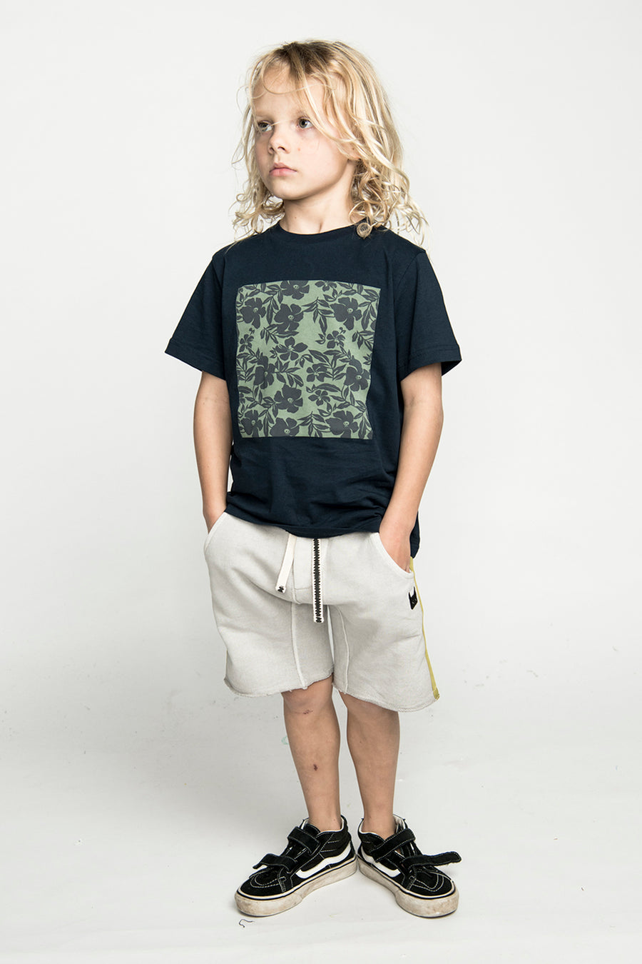 Munster Kids Rafters Boys Shorts - Acid Grey