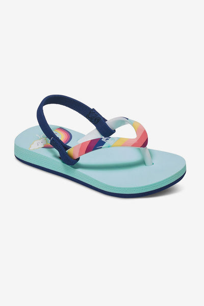 Roxy Pebbles Rainbow Backstrap Sandals