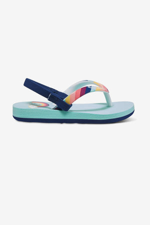 Roxy Tahiti Rainbow Backstrap Sandals