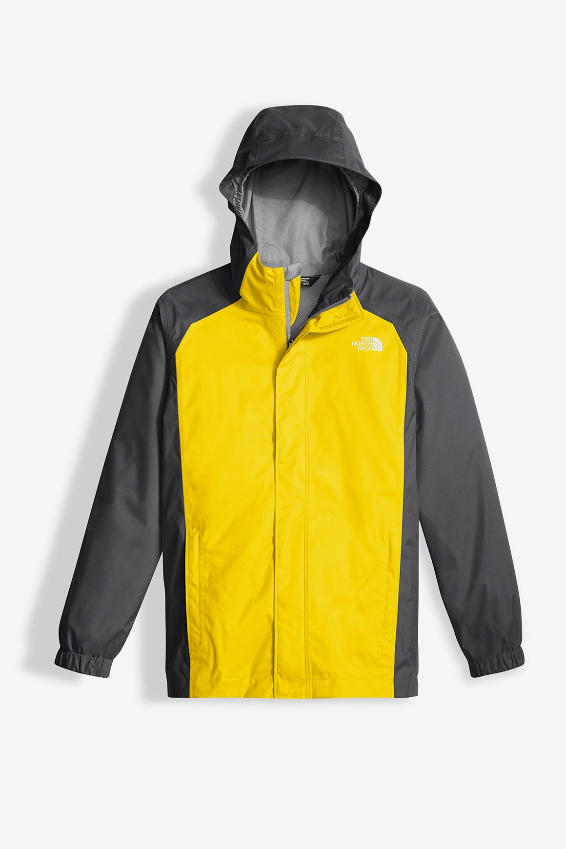 The North Face Boys' Resolve Reflective Rain Jacket - Yellow
