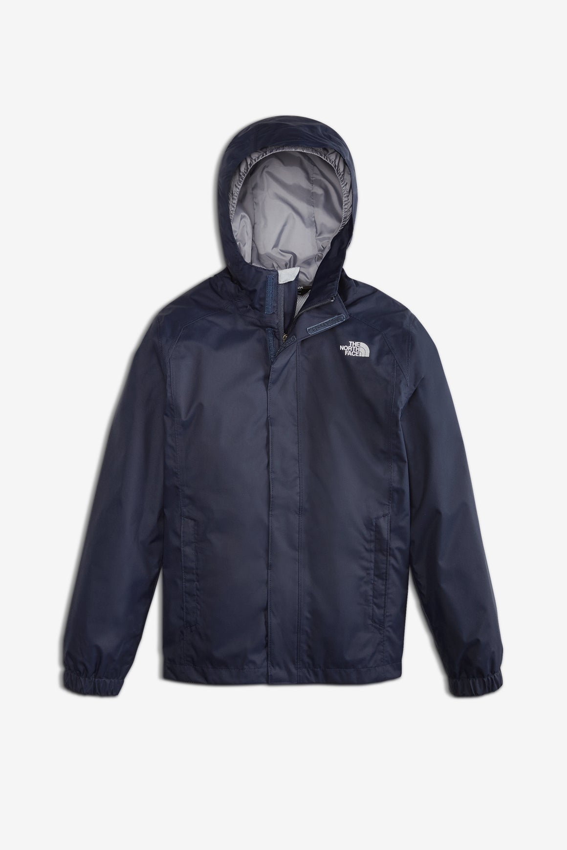 The North Face Boys' Resolve Reflective Rain Jacket - Cosmic Blue