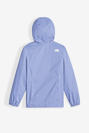 The North Face Girls' Resolve Reflective Jacket - Collar Blue