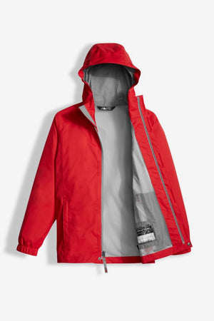 The North Face Boys' Resolve Reflective Rain Jacket - Red