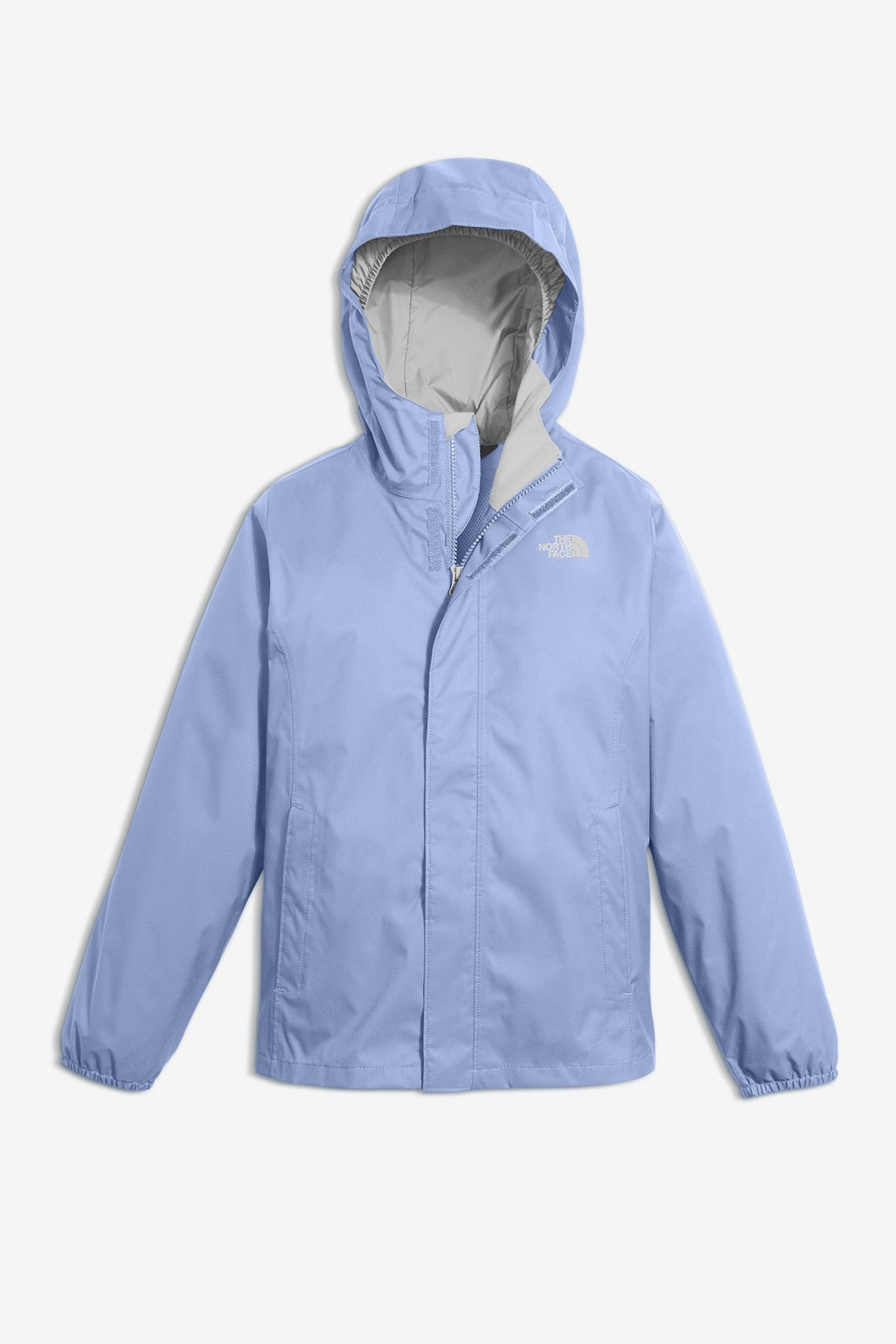 The North Face Girls' Resolve Reflective Rain Jacket - Lavender
