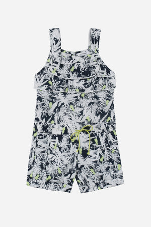 3pommes Tropical Print Jumpsuit