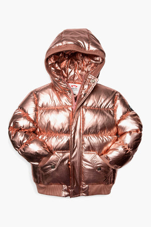 Appaman  Rose Gold Puffy Coat