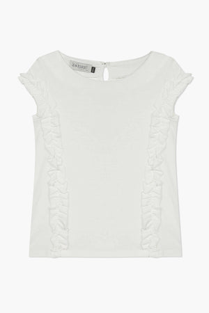 Jean Bourget Ruffled Girls Shirt