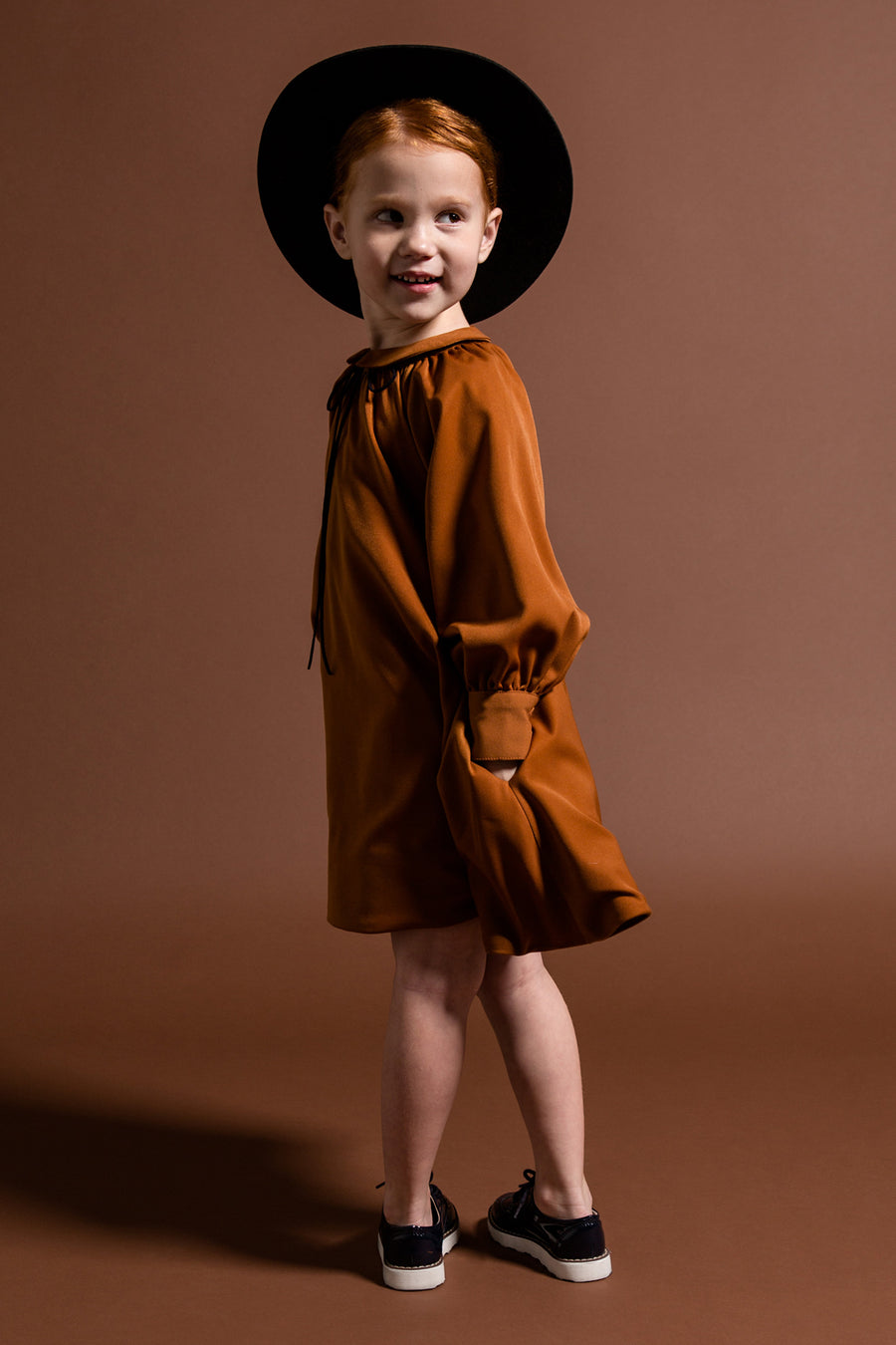 OMAMImini Tent Dress - Rust