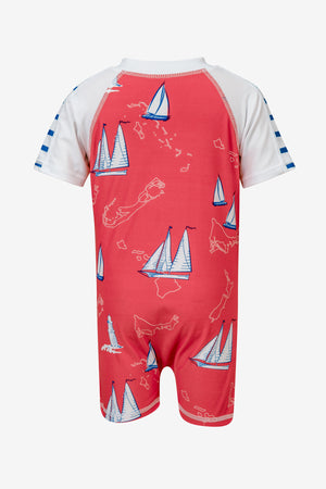 Island Sail Baby Sunsuit