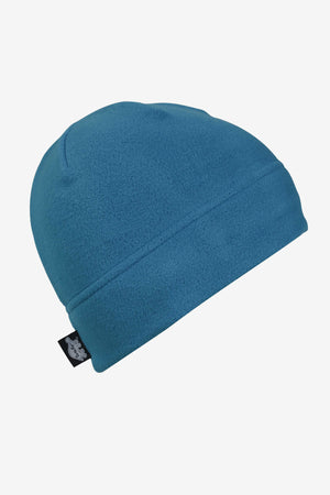 Fleece Beanie Hat - Teal