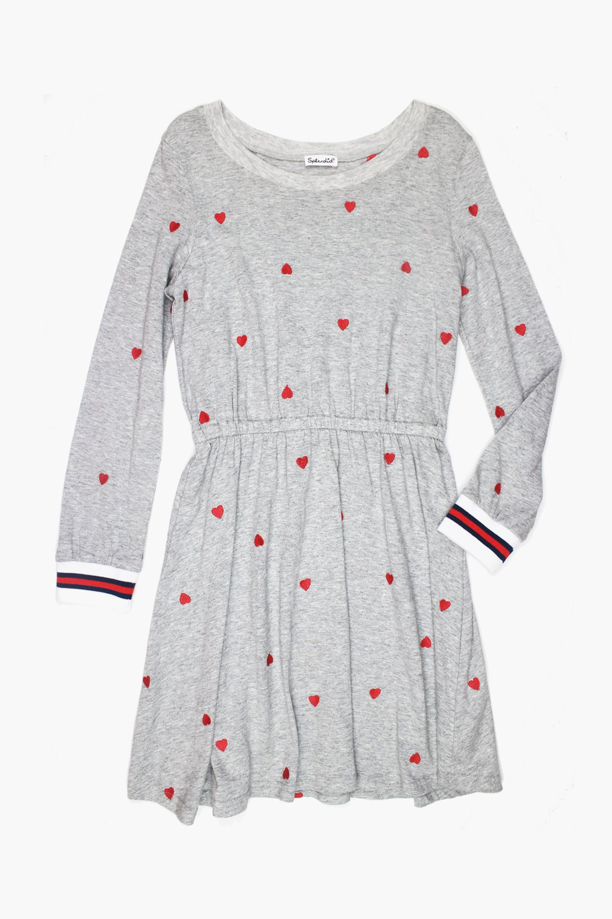 Splendid Schiffli Heart Girls Dress