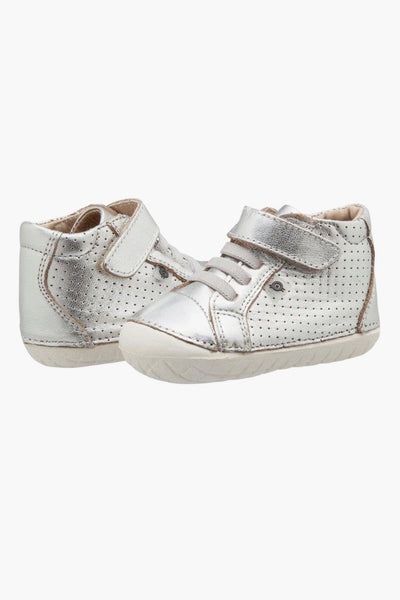 Old Soles Pave Cheer Baby Shoes - Silver