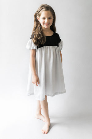 Vierra Rose Simone Dress - Grey
