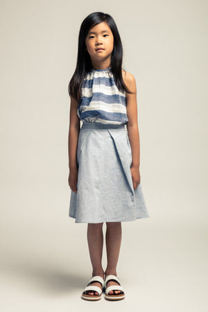 Noch Mini Mixed Stripe Skirt