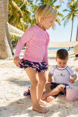 Snapper Rock Slice Of Life Baby Girls Swim Set