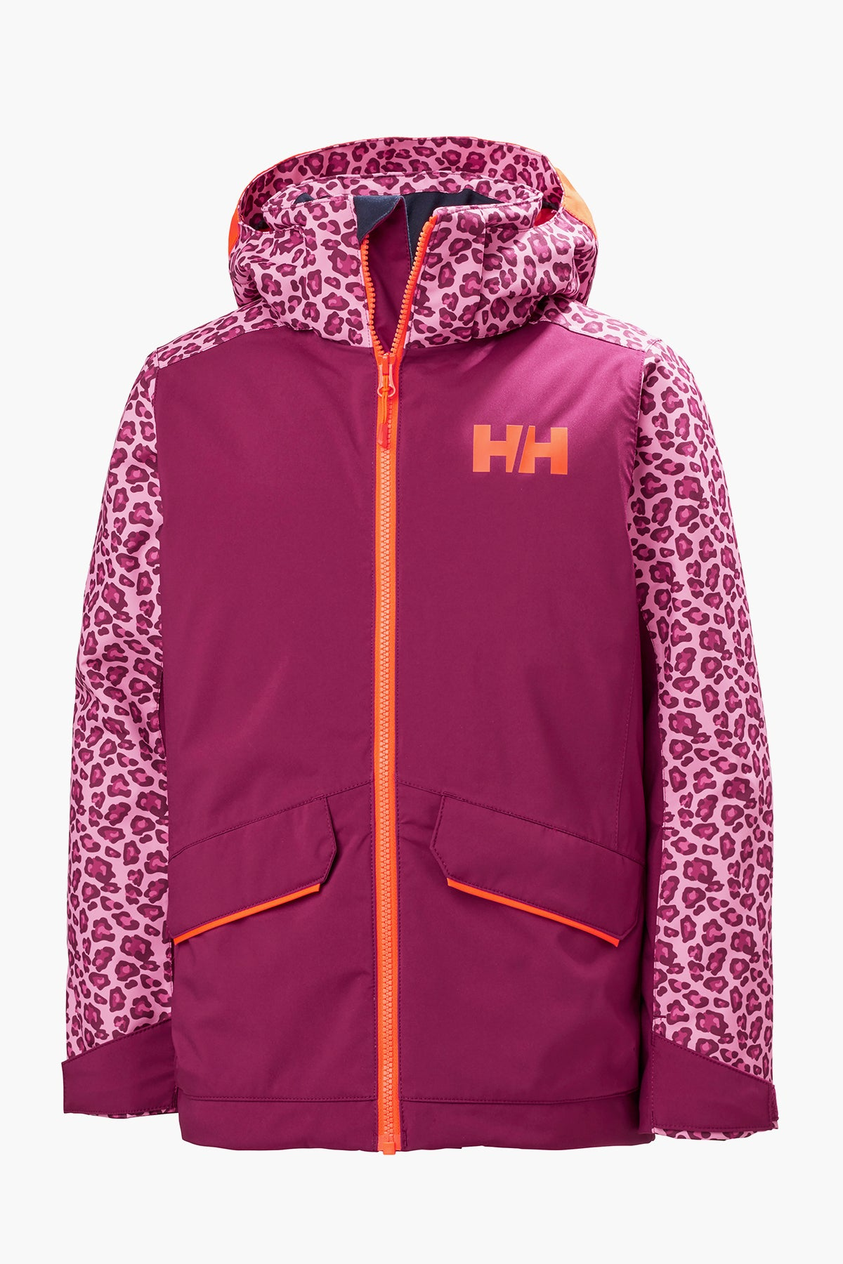 Helly Hansen Kids Jacket Snowangel - Purple Potion