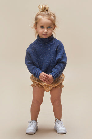 Huxbaby Sprinkles Knit Girls Sweater