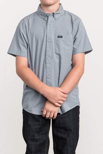 RVCA Staple Short Sleeve - Monument