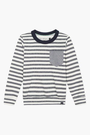Jean Bourget Striped Boys Sweatshirt