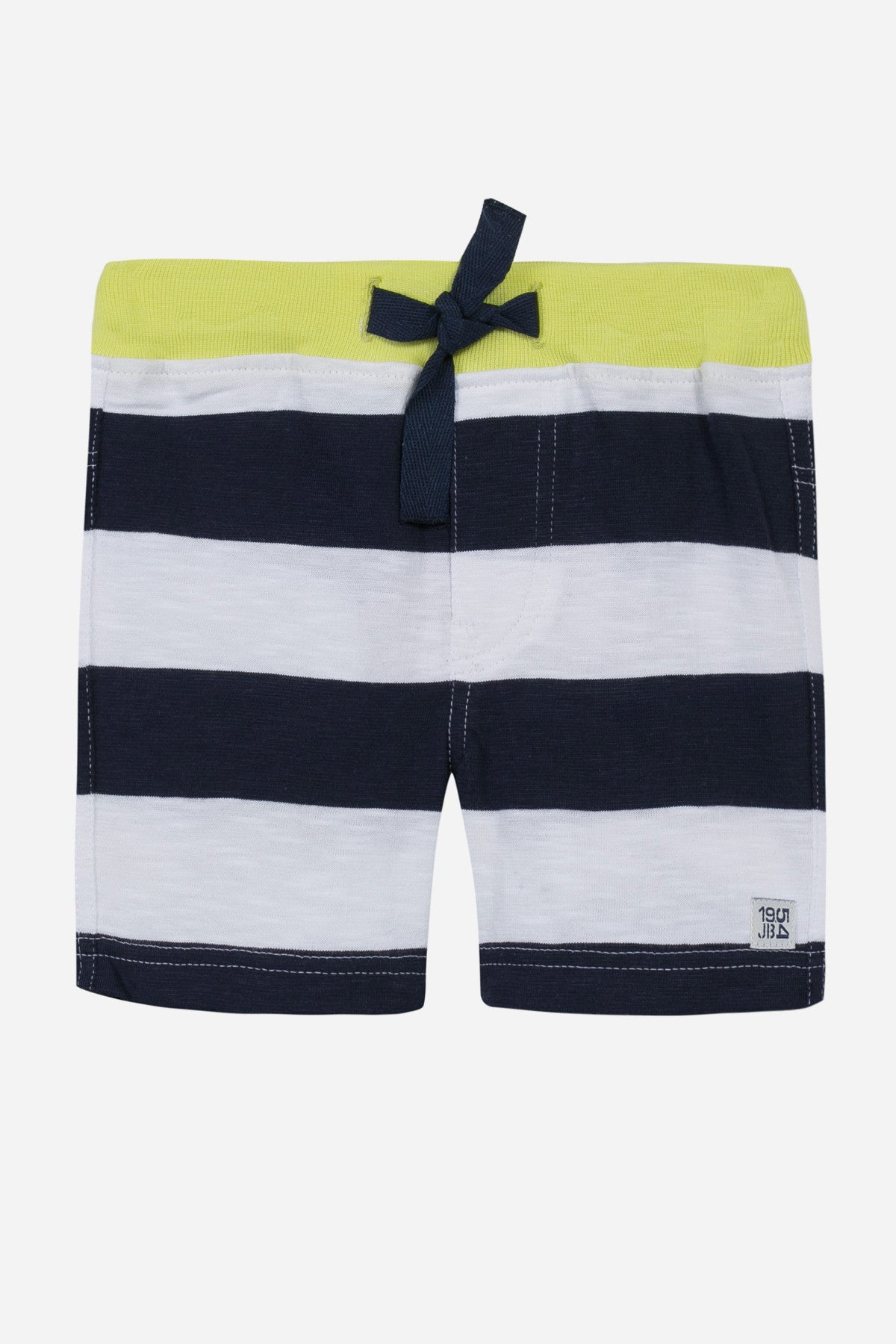 Jean Bourget Baby Boy Striped Shorts