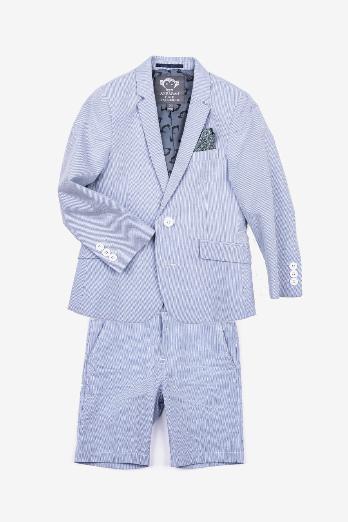 Appaman Boys Short Suit Set