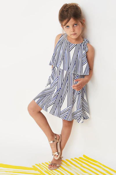 Jean Bourget Summer Print Dress