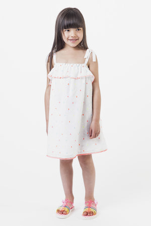 Billieblush Tiny Square Confetti Sundress